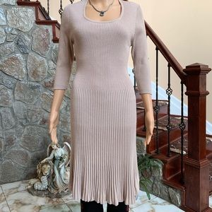 Say What Sweater Stretch Dress